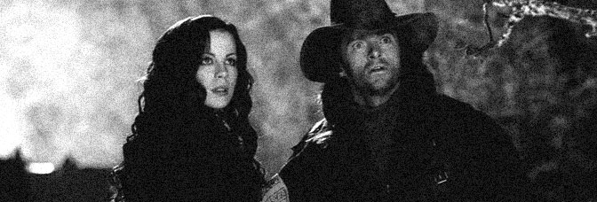 Kate Beckinsale and Hugh Jackman star in VAN HELSING, directed by Stephen Sommers for Universal Pictures.