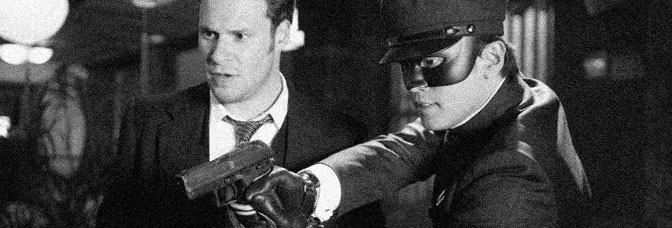 Seth Rogen and Jay Chou star in THE GREEN HORNET, directed by Michel Gondry for Columbia Pictures.