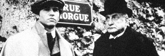 Val Kilmer and George C. Scott star in THE MURDERS IN THE RUE MORGUE, directed by Jeannot Szwarc for CBS.