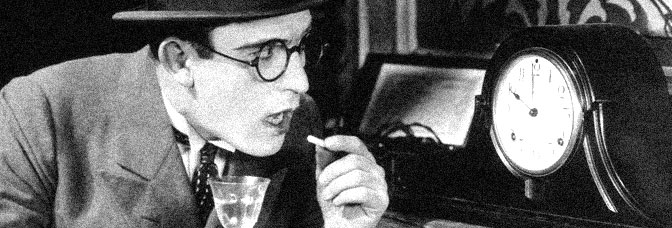 Harold Lloyd stars in HIGH AND DIZZY, directed by Hal Roach for Pathé Exchange.