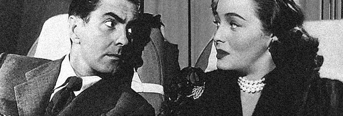 Tyrone Power and Patricia Neal star in DIPLOMATIC COURIER, directed by Henry Hathaway for 20th Century Fox.