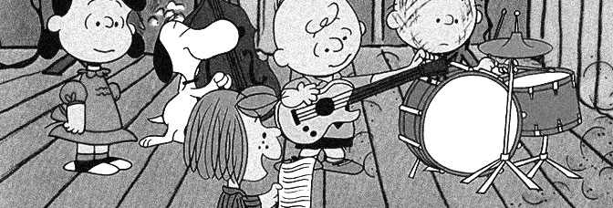 A scene from PLAY IT AGAIN, CHARLIE BROWN, directed by Bill Melendez for CBS.