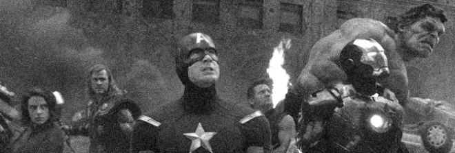 A scene from THE AVENGERS, directed by Joss Whedon for Walt Disney Pictures.