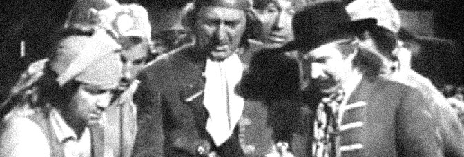 A scene from CAPTAIN KIDD'S TREASURE, directed by Leslie Fenton for Metro-Goldwyn-Mayer.