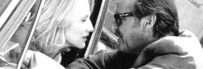 Ellen Barkin and Jack Nicholson star in MAN TROUBLE, directed by Bob Rafelson for 20th Century Fox.