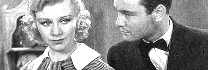 Ginger Rogers and Lew Ayres star in DON'T BET ON LOVE, directed by Murray Roth for Universal Pictures.