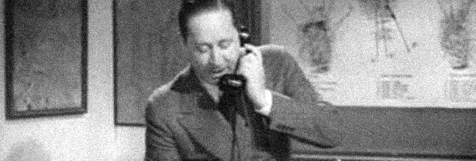 Robert Benchley stars in HOW TO BE A DETECTIVE, directed by Felix E. Feist for Metro-Goldwyn-Mayer.