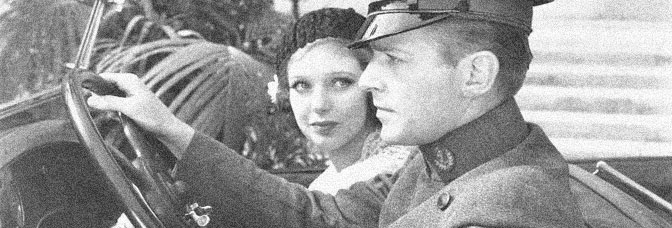 Loretta Young and Douglas Fairbanks Jr. star in I LIKE YOUR NERVE, directed by William C. McGann for Warner Bros.