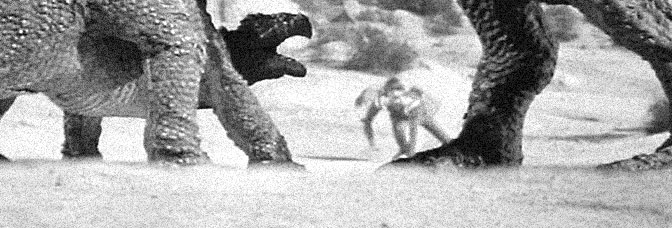 A scene from PLANET OF DINOSAURS, directed by James K. Shea for Cineworld Pictures.