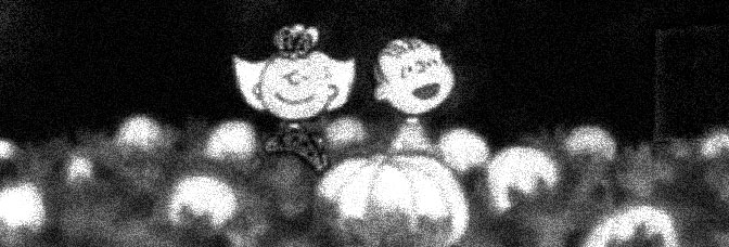 A scene from IT'S THE GREAT PUMPKIN, CHARLIE BROWN, directed by Bill Melendez for CBS.