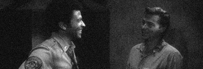 Austin Stoker and Darwin Joston star in ASSAULT ON PRECINCT 13, directed by John Carpenter for Turtle Releasing.