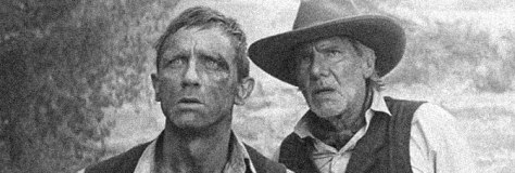Daniel Craig and Harrison Ford star in COWBOYS & ALIENS, directed by Jon Favreau for Universal Pictures.