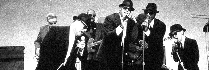 A scene from BLUES BROTHERS 2000, directed by John Landis for Universal Pictures.