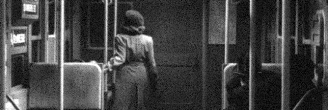 A scene from THE SEVENTH VICTIM, directed by Mark Robson for RKO Radio Pictures.