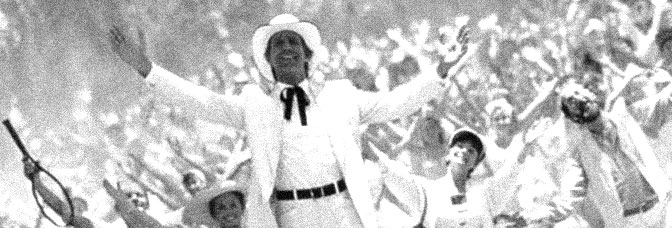 Chevy Chase is a dancing fool in FLETCH LIVES, directed by Michael Ritchie for Warner Bros.