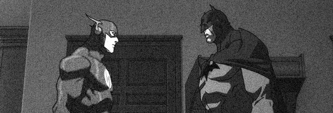 A scene from JUSTICE LEAGUE: THE FLASHPOINT PARADOX, directed by Jay Oliva for Warner Home Video.