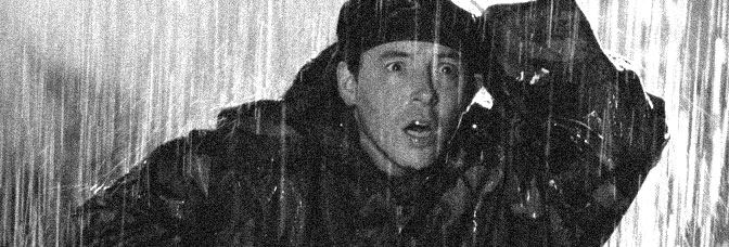 Ferris Bueller takes a rainy day off in GODZILLA, directed by Roland Emmerich for Tri-Star Pictures.