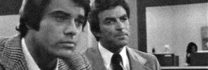 Robert Urich and Tom Selleck are--no surprise here--cops in BUNCO, directed by Alexander Singer.