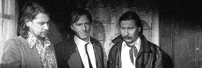Kari Väänänen, André Wilms and Matti Pellonpää star in THE BOHEMIAN LIFE (La Vie de Bohème), directed by Aki Kaurismäki for Pyramide Distribution.