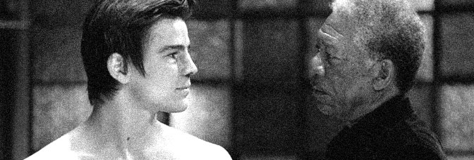 Josh Hartnett and Morgan Freeman star in LUCKY NUMBER SLEVIN, directed by Paul McGuigan for The Weinstein Company.
