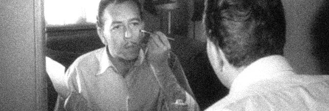 Paul Henreid takes a look in the mirror in HOLLOW TRIUMPH, directed by Steve Sekely for Eagle-Lion Films.