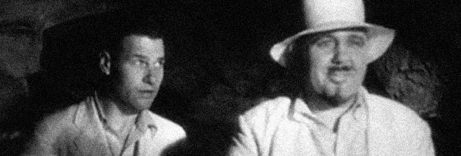 Richard Arlen and Charles Laughton star in ISLAND OF LOST SOULS, directed by Erle C. Kenton for Paramount Pictures.