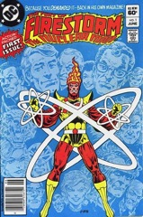 The Fury of Firestorm, The Nuclear Man #1