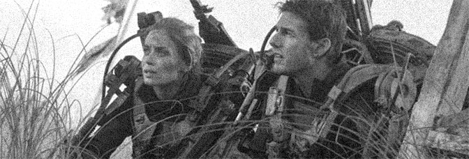 Emily Blunt and Tom Cruise star in EDGE OF TOMORROW, directed by Doug Liman for Warner Bros.