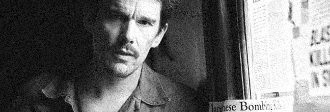 Ethan Hawke stars in PREDESTINATION, directed by The Spierig Brothers for Pinnacle Films.