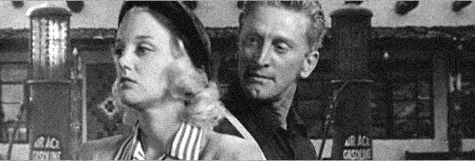 Jan Sterling and Kirk Douglas star in ACE IN THE HOLE, directed by Billy Wilder for Paramount Pictures.