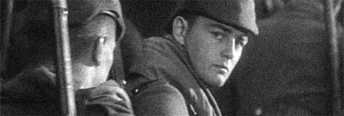 Lew Ayres stars in ALL QUIET ON THE WESTERN FRONT, directed by Lewis Milestone for Universal Pictures.