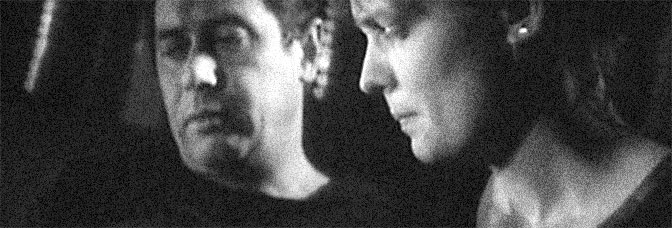 Janusz Gajos and Adrianna Biedrzynska star in THE DECALOGUE: FOUR (Dekalog, cztery), directed by Krzysztof Kieslowski for Warner Bros.