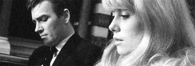A scene from REPULSION, directed by Roman Polanski for Compton Films.