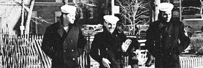 Randy Quaid, Jack Nicholson and Otis Young star in THE LAST DETAIL, directed by Hal Ashby for Columbia Pictures.