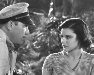 Gentlemen prefer brunettes. Robert Armstrong and Helen Mack in THE SON OF KONG, their second pairing for RKO in 1933.