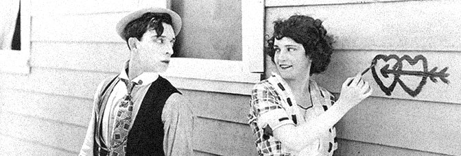 Buster Keaton and Sybil Seeley star in ONE WEEK, directed by Edward F. Cline and Keaton for Metro Pictures Corporation.