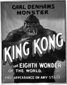 King Kong, as advertised in SON OF KONG.