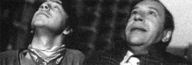 Zbigniew Zamachowski and Jerzy Stuhr star in THE DECALOGUE: TEN (Dekalog, dziesiec), directed by Krzysztof Kieslowski for Warner Bros.