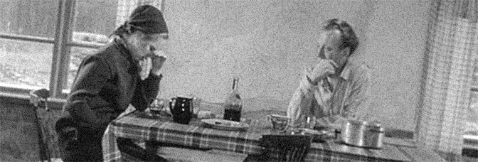 Liv Ullmann and Max von Sydow star in SHAME (Skammen), directed by Ingmar Bergman for AB Svensk Filmindustri.