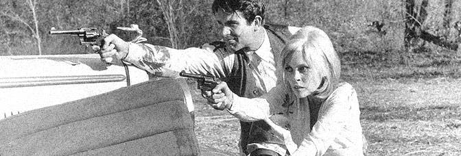 Warren Beatty and Faye Dunaway star in BONNIE AND CLYDE, directed by Arthur Penn for Warner Bros.