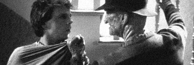 Mark Patton and Robert Englund star in A NIGHTMARE ON ELM STREET PART 2: FREDDY'S REVENGE, directed by Jack Sholder for New Line Cinema.