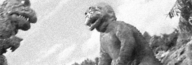 A scene from SON OF GODZILLA (Kaijū-tō no Kessen Gojira no Musuko), directed by Fukuda Jun for Toho Company Ltd.