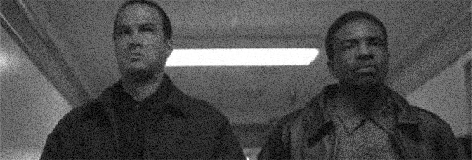 Steven Seagal and Keith David star in MARKED FOR DEATH, directed by Dwight H. Little for 20th Century Fox.