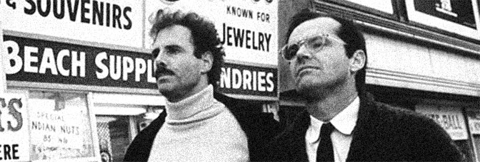 Bruce Dern and Jack Nicholson star in THE KING OF MARVIN GARDENS, directed by Bob Rafelson for Columbia Pictures.