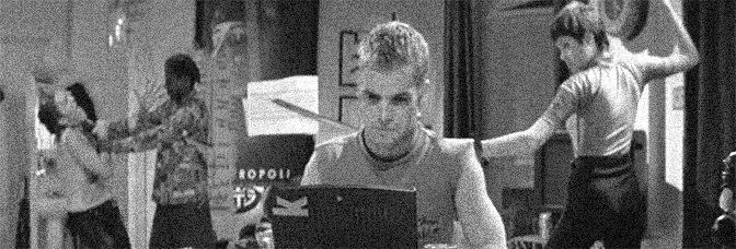 A scene from HACKERS, directed by Iain Softley for Metro-Goldwyn-Mayer.