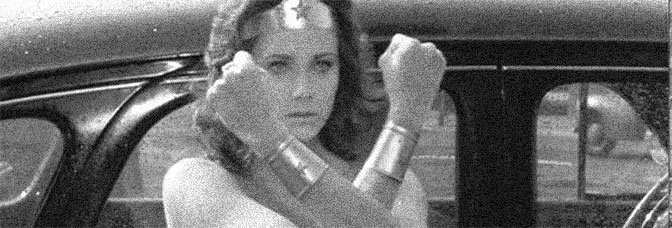 Lynda Carter stars in THE NEW, ORIGINAL WONDER WOMAN, directed by Leonard Horn for ABC.