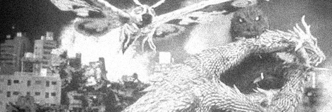 A scene from GODZILLA, MOTHRA AND KING GHIDORAH: GIANT MONSTERS ALL-OUT ATTACK, directed by Kaneko Shûsuke for Toho Company Ltd.