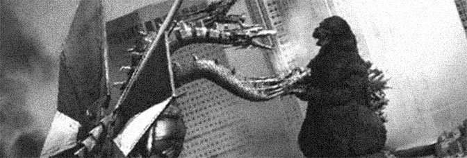A scene from GODZILLA VS. KING GHIDORAH, directed by Ohmori Kazuki for Toho Company Ltd.