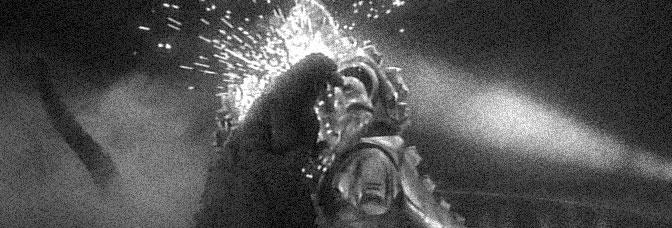 A scene from GODZILLA VS. MECHAGODZILLA, directed by Okawara Takao for Toho Company Ltd.