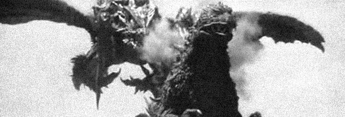 A scene from GODZILLA VS. MEGAGUIRUS, directed by Tezuka Masaaki for Toho Company Ltd.
